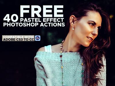 Free 40 Pastel Effect Photoshop Actions cs3 actions matte photoshop filter pastel filter free pastel effect free photoshop action pastel photoshop action free pastel action pastel action