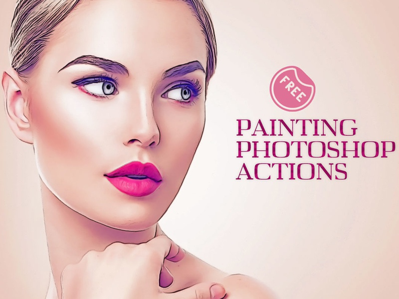 Free Oil Painting Photoshop Actions By Farhan Ahmad
