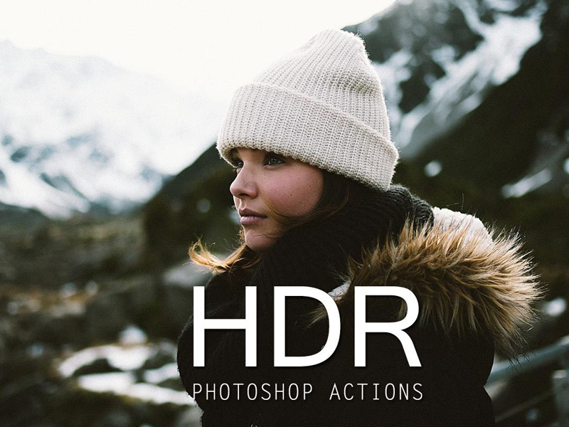 25 HDR Actions for Photoshop