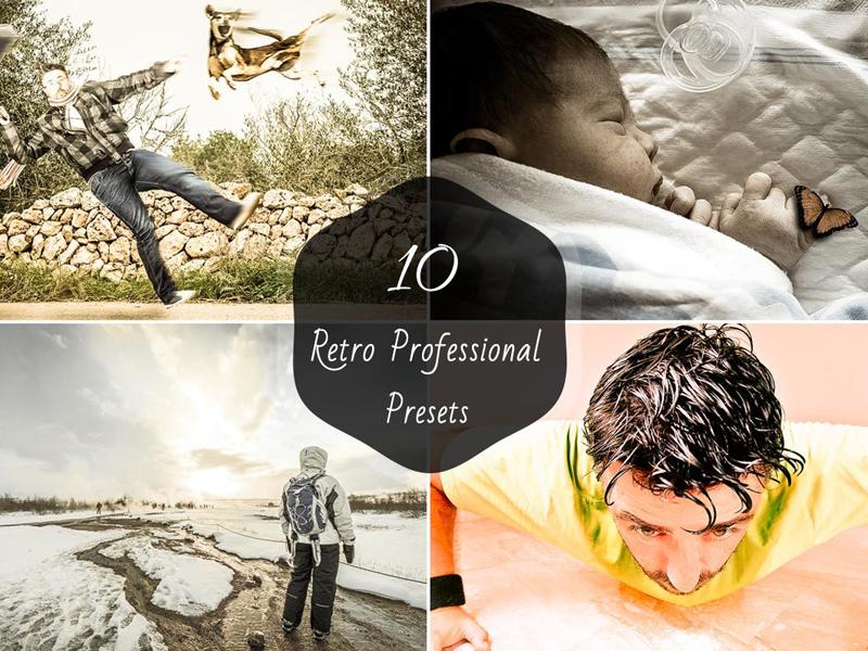 10 Free Retro Lightroom Presets by Farhan Ahmad | Dribbble