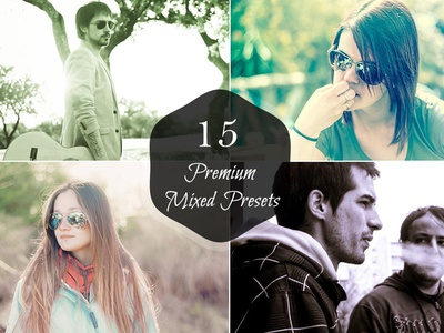 15 Free Mixed Lightroom Presets awesome free presets split tone filters. dark filters matte lightroom presets high contrast mixed lightroom presets