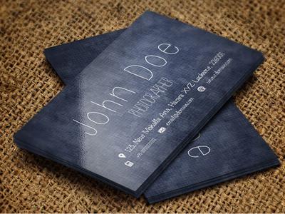 Free Handmade Creative Photography Business Card modern business cards best business cards best branding branding logo package business card branding advertising business card minimalist business card design