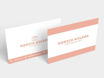 Free Simple Photography Business Card awesome card business cards best business cards branding logo business card branding advertising business card minimalist business card design free minimal business card minimal business card