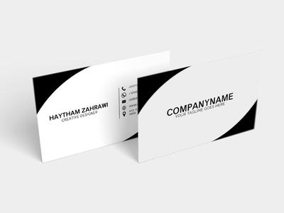 Free Creative Minimal Business Card bw business card business cards best business cards branding logo business card branding advertising business card minimalist business card design free minimal business card minimal business card
