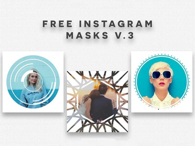 5 Free Instagram Masks V.3 psd templates instagram masks psd templates free instagram masks templates free instagram masks instagram masks
