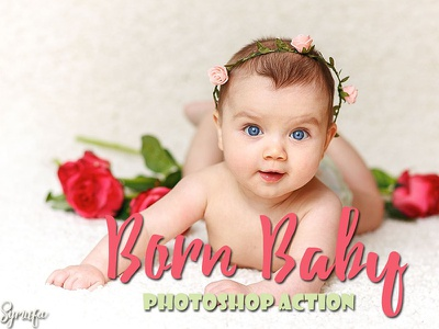 20 Born Baby Photoshop Actions symufa cs3 cc new action photoshop photography born baby