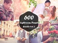 600 Lightroom Presets Bundle Vol. 2