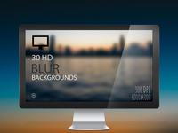 30 HD BLUR BACKGROUNDS