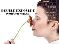 Double Exposure Photoshop Action V1