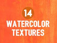 14 Watercolor Textures