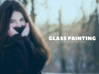 Glass Painting Photoshop Actions