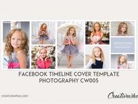 Facebook Cover Template CW005