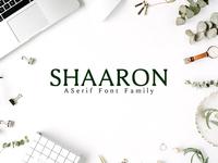 Shaaron A New Serif 2 Font Family