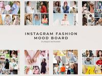 Instagram Fashion Mood Board