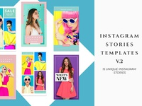 Instagram Stories Templates V.2