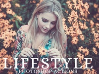25 Lifestyle Photoshop Actions