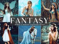 Free fantasy mobile desktop lightroom presets cover