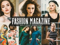 Free Fashion Magazine Mobile and Desktop Lightroom Preset