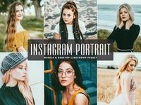 Free Instagram Portrait Mobile Desktop Lightroom Presets