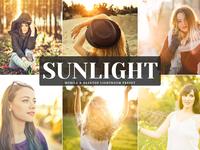 Free Sunlight Mobile Desktop Lightroom Preset