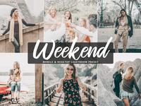 Free Weekend Mobile & Desktop Lightroom Preset