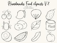 Free Handmade Food Clipart Ver. 2