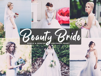 Free Beauty Bride Mobile and Desktop Lightroom Preset