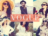 Free Vogue Mobile Desktop Lightroom Preset