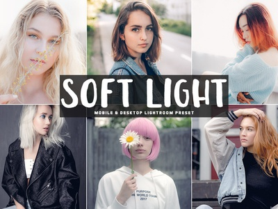 Free Soft Light Mobile Desktop Lightroom Preset