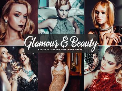 Free Glamour & Beauty Mobile and Desktop Lightroom Preset