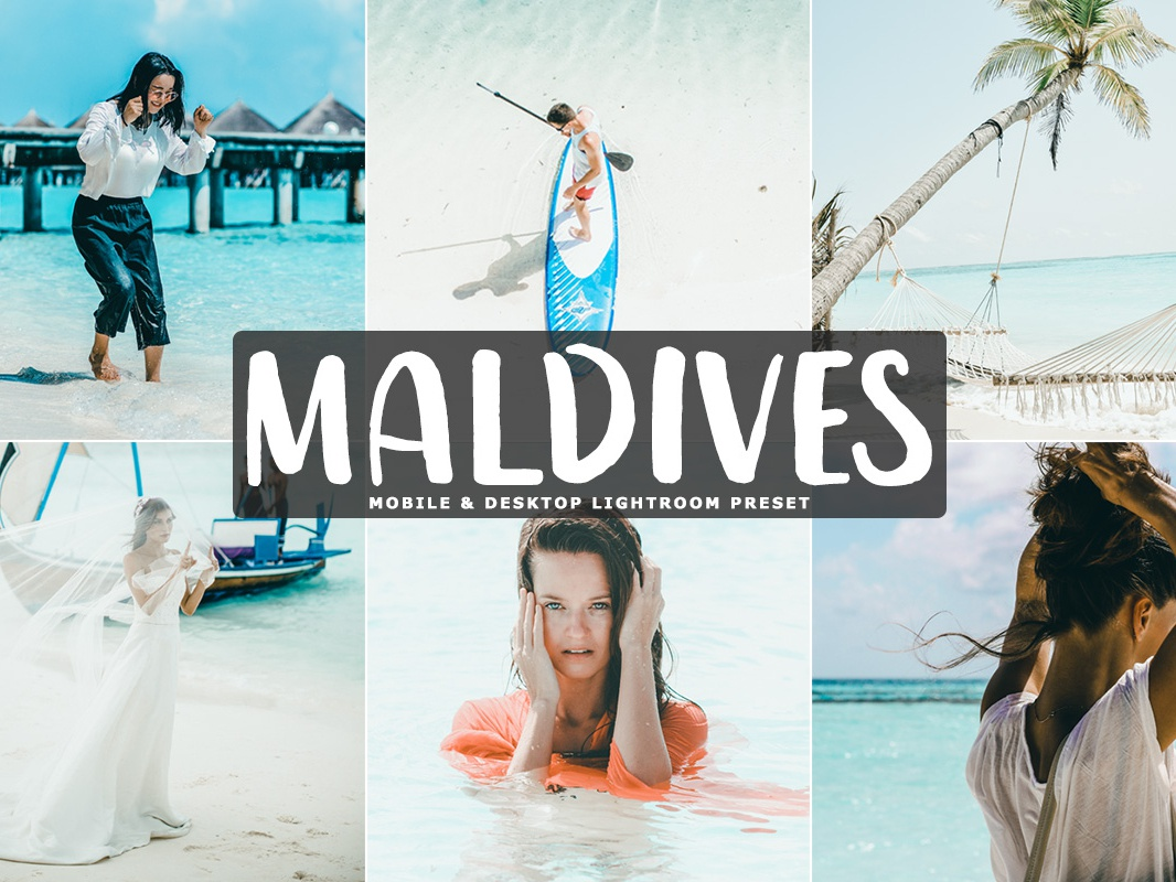 Free Maldives Mobile & Desktop Lightroom Preset by Farhan Ahmad on