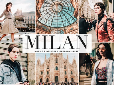 Free Milan Mobile & Desktop Lightroom Preset