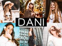 Free dani mobile desktop lightroom presets cover