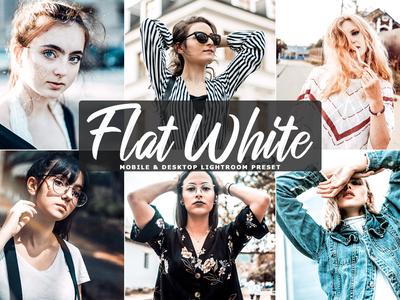 Free Flat White Mobile & Desktop Lightroom Preset