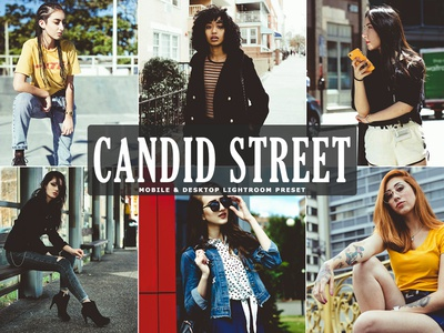 Free Candid Street Mobile Desktop Lightroom Preset