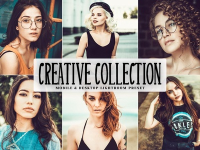 Free Creative Collection Mobile & Desktop Lightroom Preset