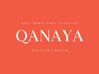 Free qanaya serif font family pack1