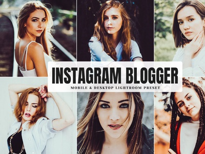 Free Instagram Blogger Mobile & Desktop Lightroom Preset