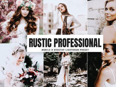 Free Rustic Professional Mobile & Desktop Lightroom Preset