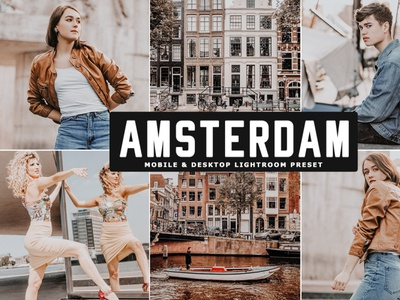 Free Amsterdam Mobile & Desktop Lightroom Preset