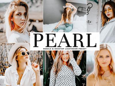 Free Pearl Mobile & Desktop Lightroom Preset