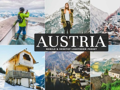Free Austria Mobile & Desktop Lightroom Preset