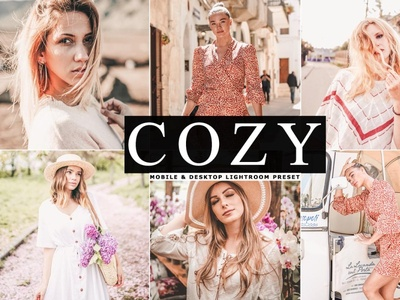 Free Cozy Mobile & Desktop Lightroom Preset