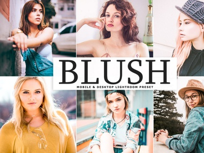 Free Blush Mobile & Desktop Lightroom Preset