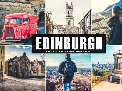 Free Edinburgh Mobile & Desktop Lightroom Preset