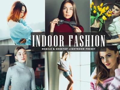 Free Indoor Fashion Mobile & Desktop Lightroom Preset