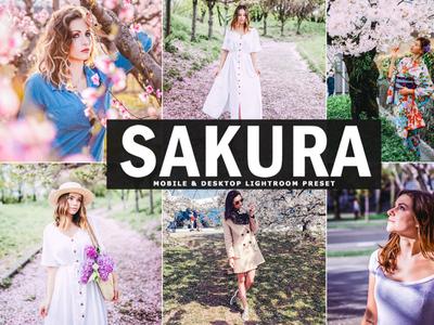 Free Sakura Mobile & Desktop Lightroom Preset