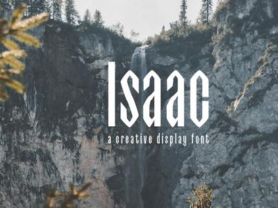 Free Isaac Display Font Family