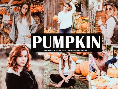 Free Pumpkin Mobile & Desktop Lightroom Preset
