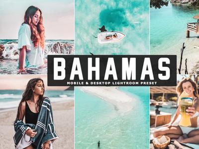 Free Bahamas Mobile & Desktop Lightroom Preset